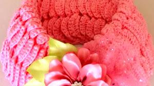Cuello o Bufanda Corta Crochet / Tutorial Fácil