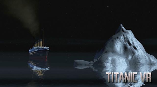 Гра Titanic VR, Титанік