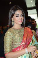 Shriya Saran Looks Stunning in Silk Saree at VRK Silk Showroom Launch Secundrabad ~  Exclusive 184.JPG