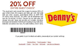 graphic relating to Dennys Printable Coupons named Dennys Printable Discount coupons Could possibly 2018 - Printable Discount coupons 2018