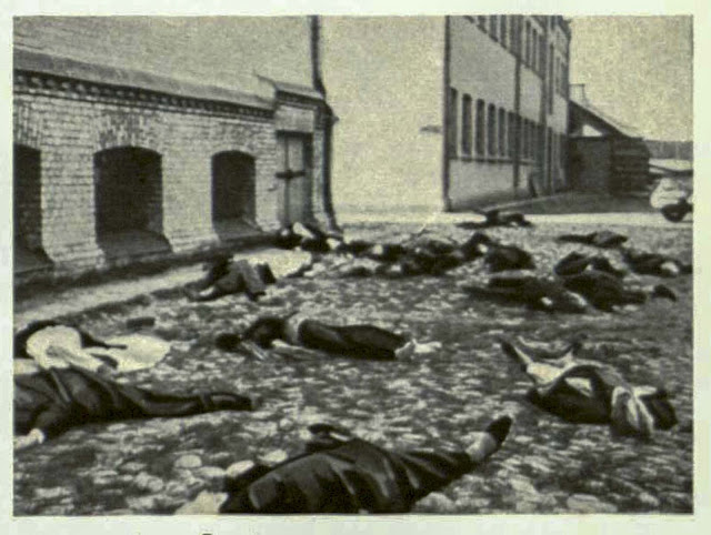 Bolshevist Government Nov 9th 1917 overthrew the   temporary Government and changed Russia into a terrible human slaughter-house