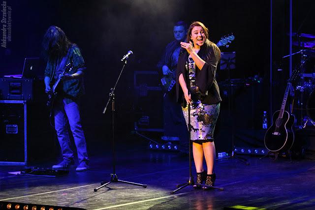 Ewa Farna - gość specjalny podczas koncertu Maryli Rodowicz w Zabrzu