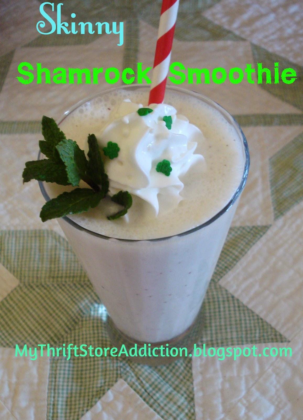 Skinny Shamrock smoothie