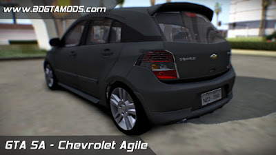 Download Chevrolet Agile para GTA SAN ANDREAS 2