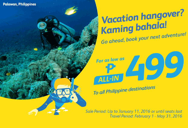 All Philippine Destinations Promo 2016