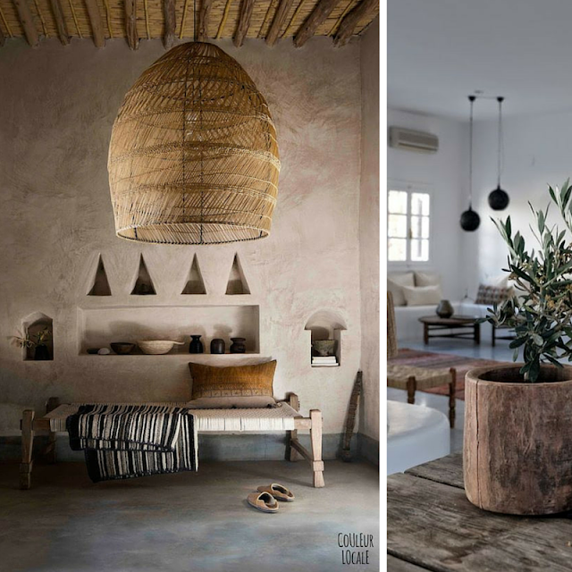 Summer house Mediterranean style • The Round Button blog