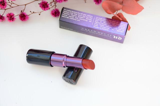 UrBan Decay Matte Revolution Lipstick... Matte Bad Blood