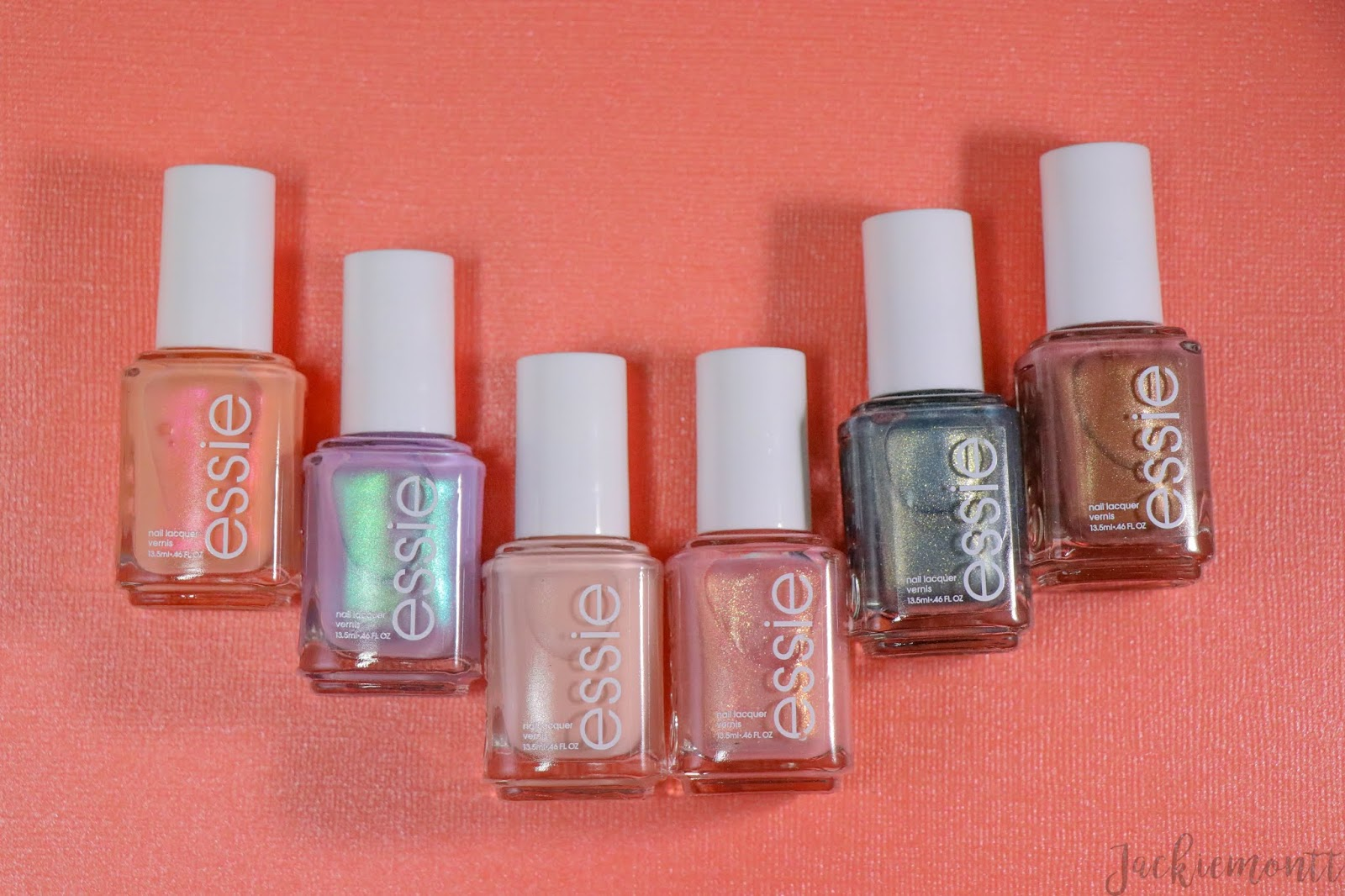 Essie Spring 2019 Collection Swatches and Review - JACKIEMONTT