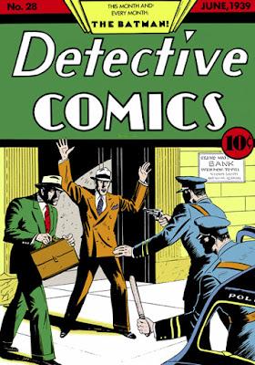 Detective Comics (1937) #28 Cover