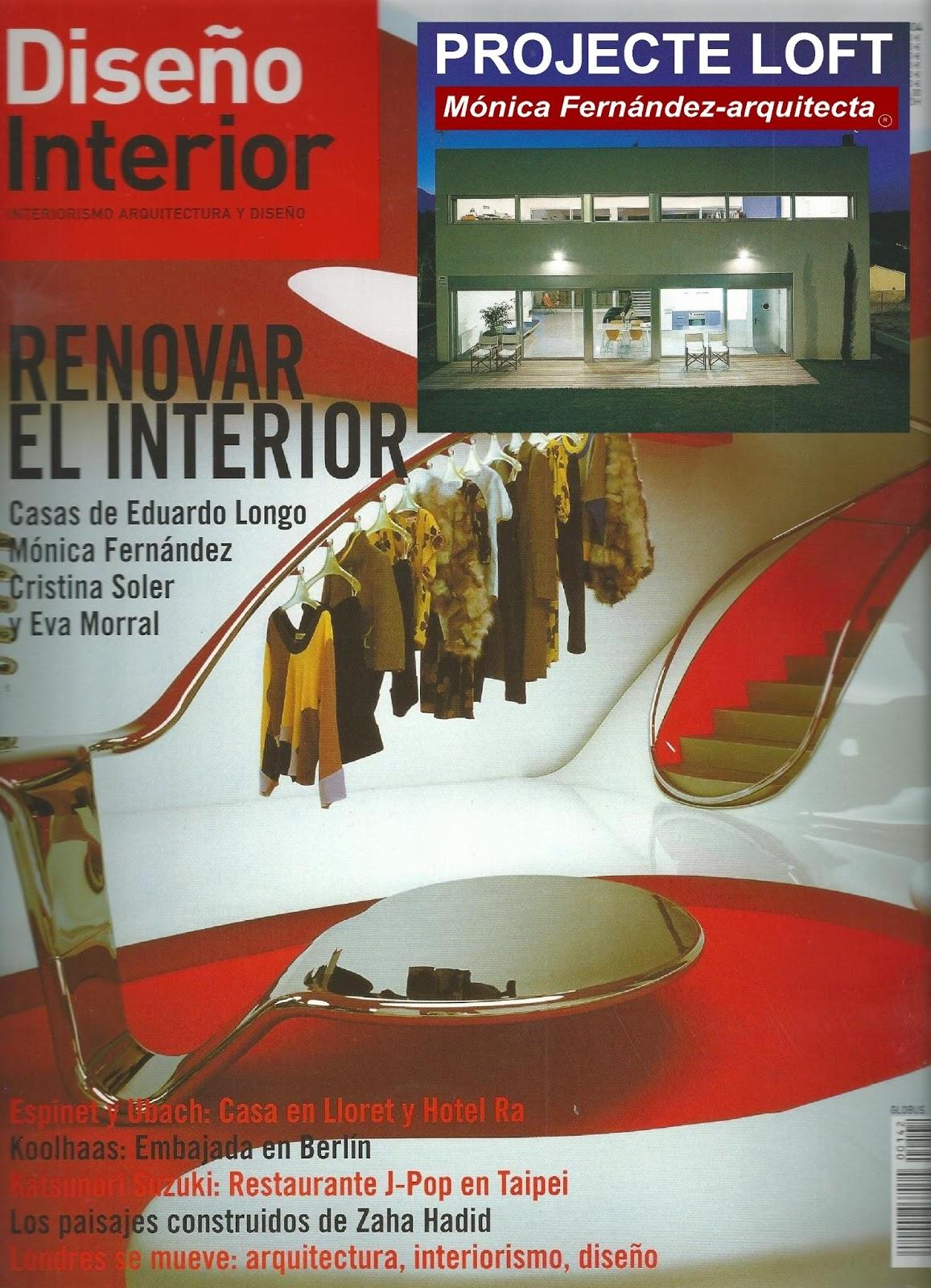 reportaje revista diseo interior proyecto de mnica
