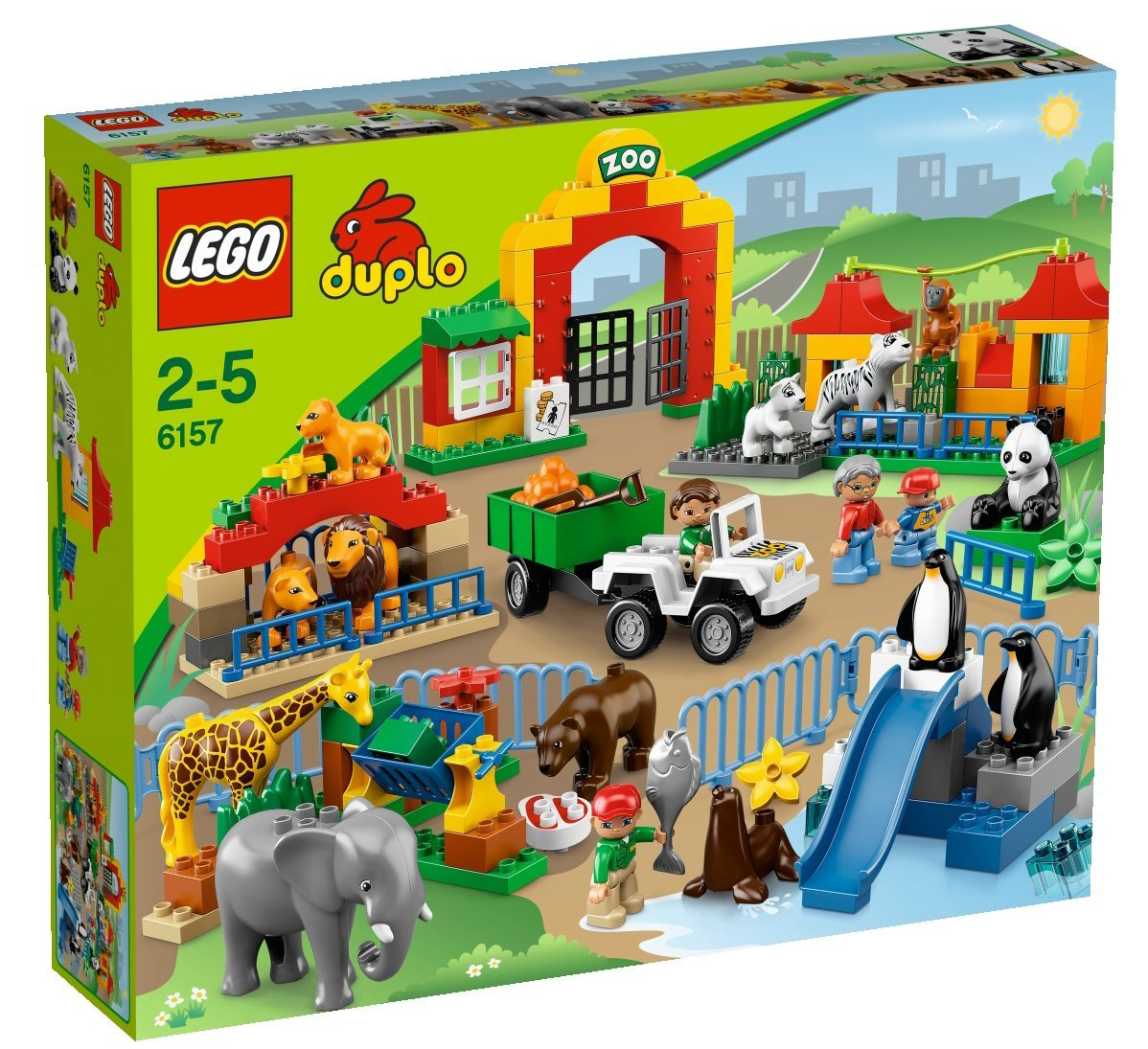 Lego zoo animals games
