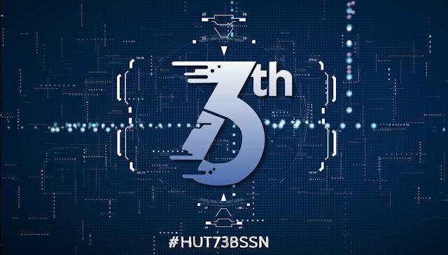 Video Mapping HUT 73 BSSN