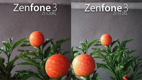 Perbedaan Spesifikasi Asus Zenfone 3 ZE552KL vs. ZE520KL
