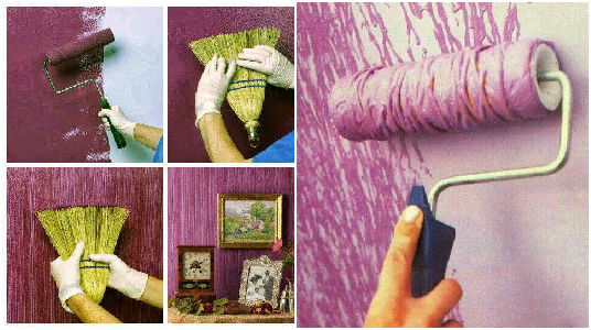 10 Ideas Geniales Para Pintar Y Hacer Texturas En Las Paredes - Ideas-pintar-paredes