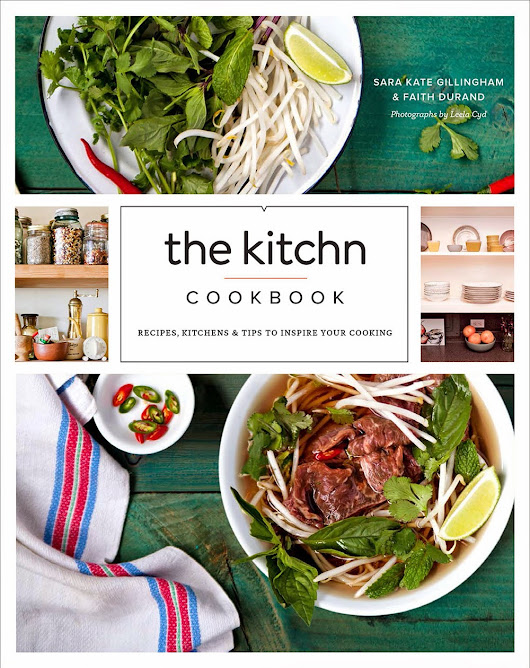 Book Review: The Kitchn Cookbook by Sara Kate Gillingham and Faith Durand