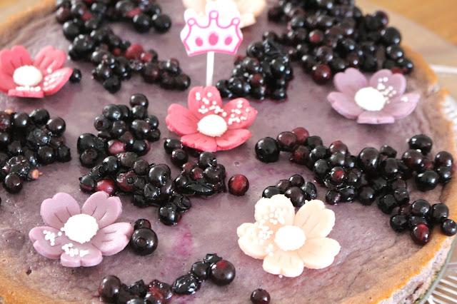 Lila Kuchen