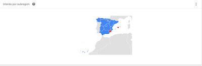 Gráfico Freixenet, Codorniù y Maset del Lleó en España 12 meses