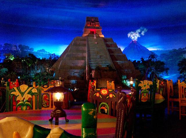 Pavilhão do México no Epcot em Orlando