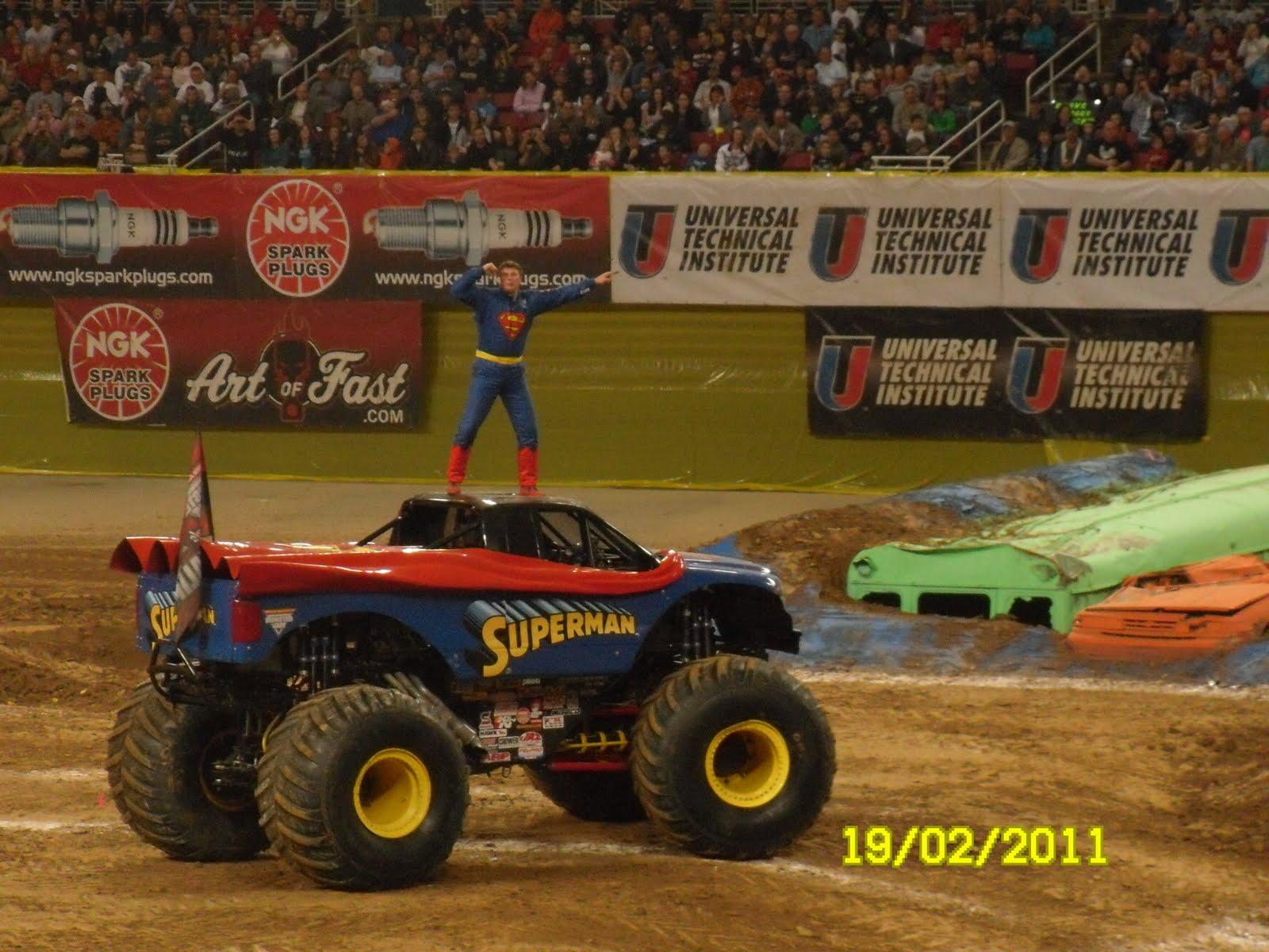 Superman Monster Trucks