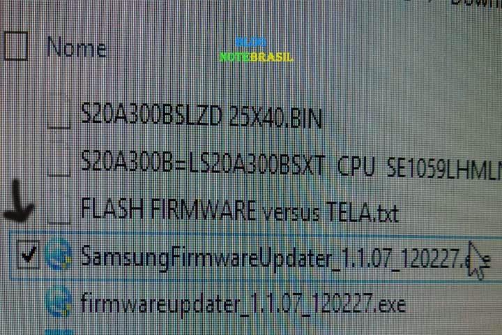 atualização firmware samsung ml-4550 series