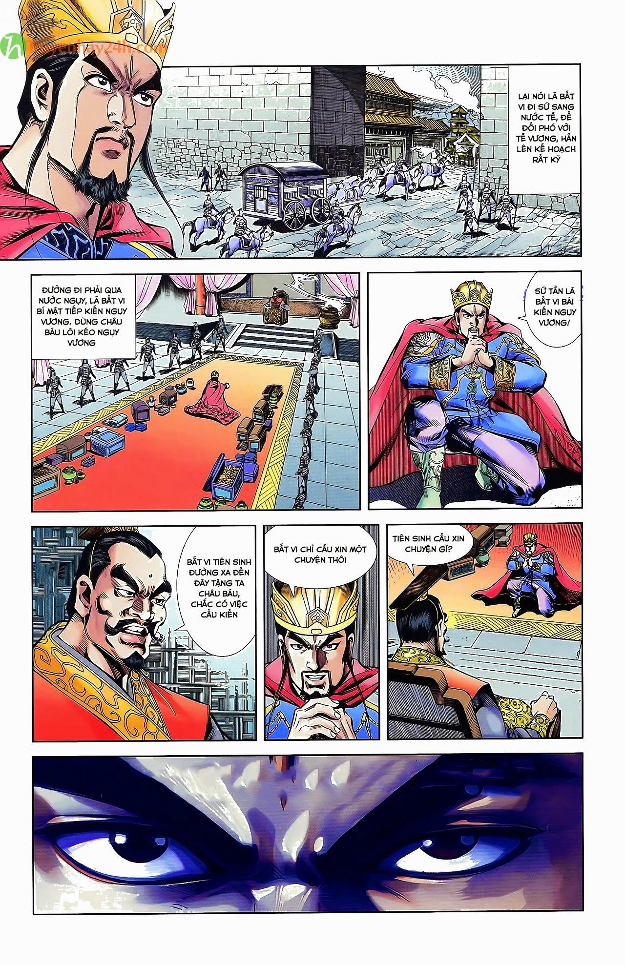 Tần Vương Doanh Chính chapter 30 trang 28