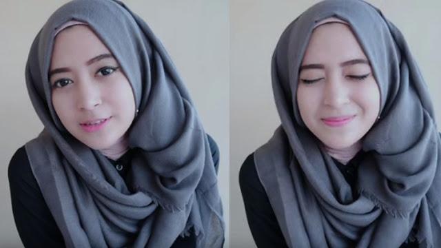 7 Inspirasi Model Hijab Cantik Dari Natasha Farani Terbaru