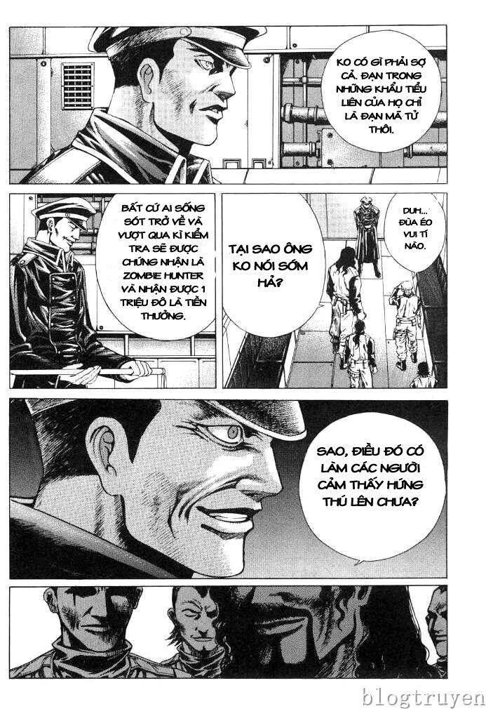 Zombie hunter chap 8 trang 6