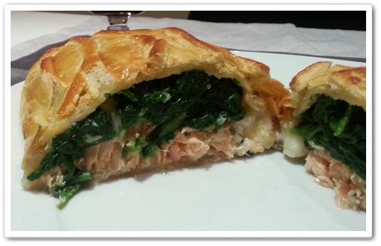 hojaldre salmon y espinacas 5