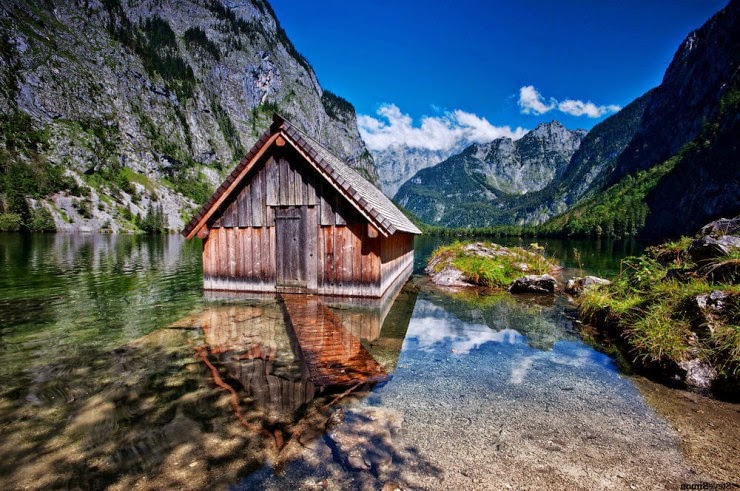 8. Schönau am Königssee, Bavaria, Germany - Top 10 Houses in the Middle of Nowhere