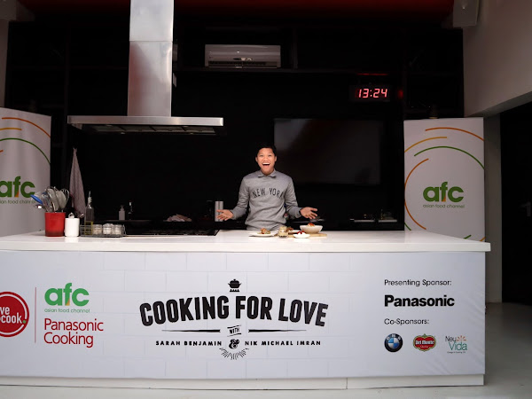 Cooking For Love with Sarah Benjamin & Nik Michael Imran