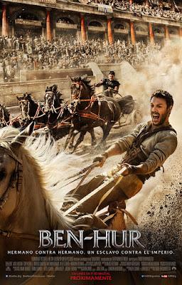 Cartel en español de 'Ben-Hur'