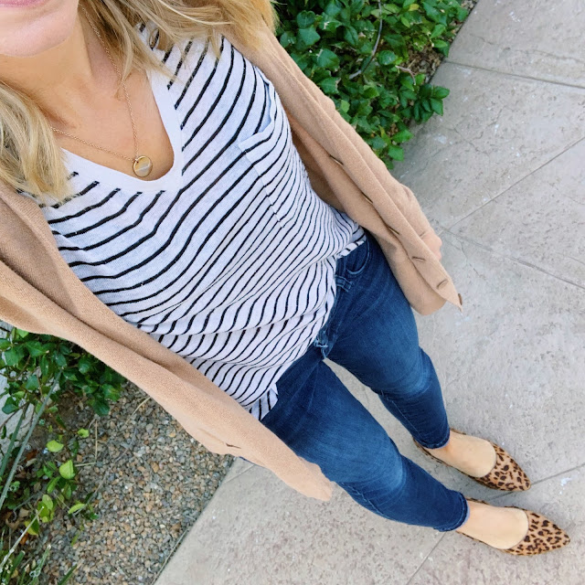 Stripes and leopard flats