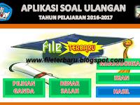 Download Aplikasi Soal Ulangan File Terbaru Format Excel Gratis