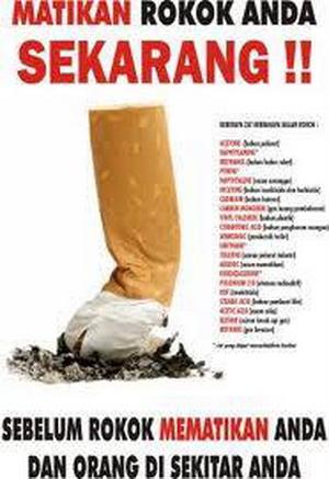 Artikel: Bahaya merokok bagi kesehatan