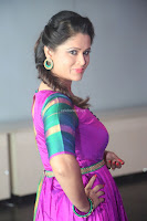 Shilpa Chakravarthy in Purple tight Ethnic Dress ~  Exclusive Celebrities Galleries 015.JPG