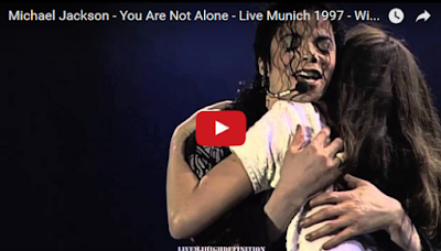 Michael Jackson - You Are Not Alone - Live Munich 1997