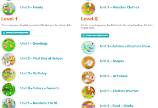 English Lessons for Kids Online