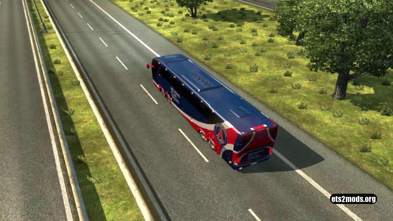 Bus – Marcopolo G7 1600LD Paris Saint-Germain Skin