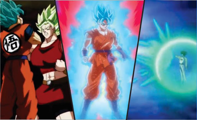 Super Saiyan Blue Anime Vs Manga Dragon Ball Super