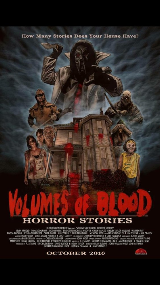Trailers: A New Horror Movie Anthology Titled Volumes Of Blood