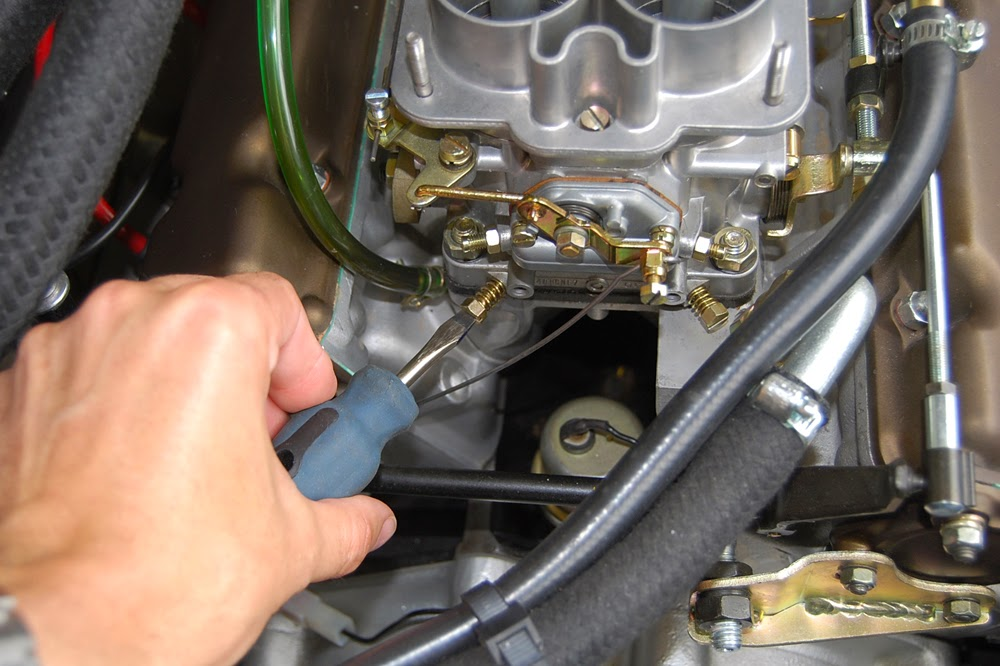 Dino 246 Restoration Blog: Carb Tuning #4: Setting the idle