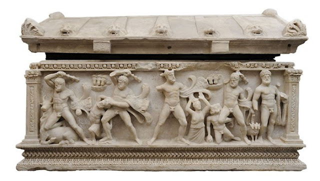'Sarcophagus of Heracles' returned to Turkey after 50 years