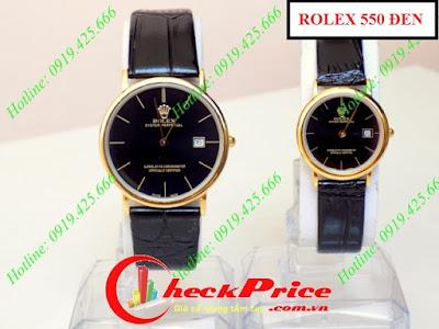 đồng hồ nữ dây da rolex 550