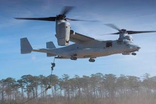 Pesawat Tilt-Rotor Bell-Boeing V-22 Osprey