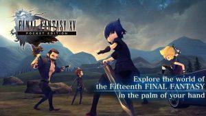 Final Fantasy XV Pocke Edition Full Version APK MOD (Proper) Terbaru 2018