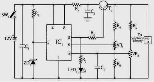 Mobile Charger Circuit Eee Community