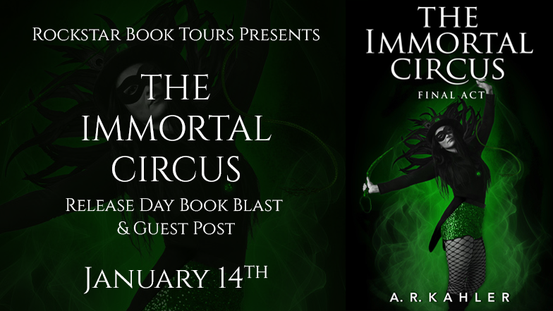 The Immortal Circus Release Day Book Blast
