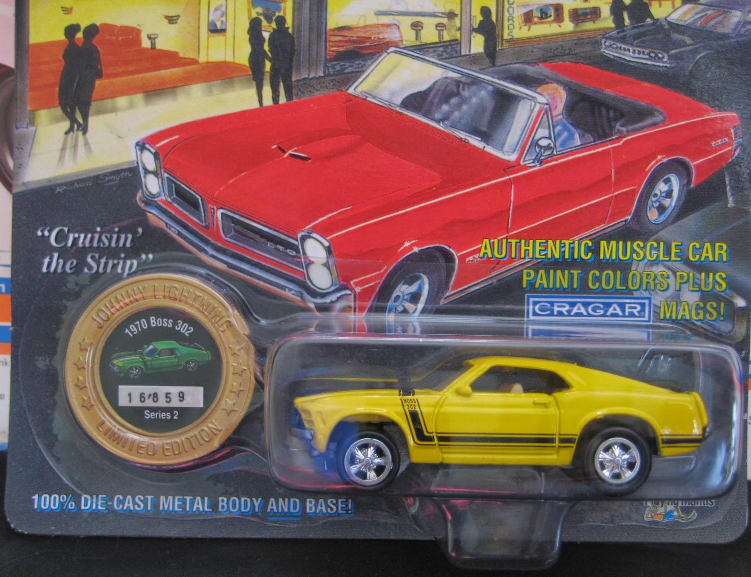 Humwheels Johnny Lightning 1970 Boss 302 Mustang