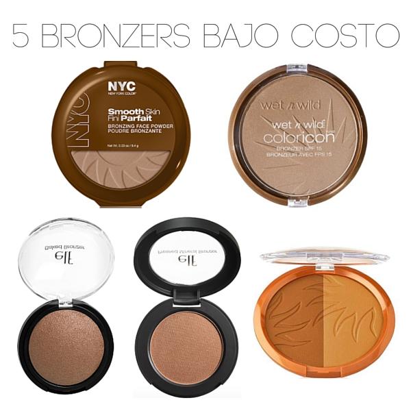 bronceadores bajo costo drugstore low cost maquillaje verano