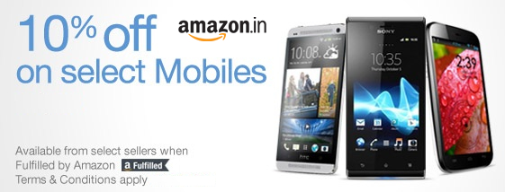 amazon india coupons for mobiles